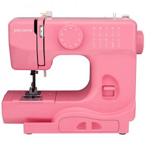 John Lewis Mini Sewing Machine Pink