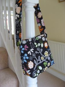 Bag based on Cath Kidston pattern used for sewing class