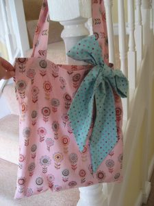 Bag made during adult sewing class